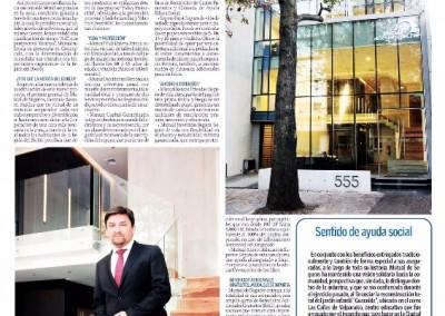 Mutual de Seguros Concepción en diario El Sur