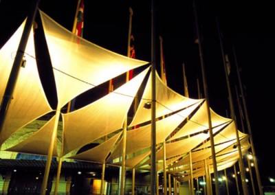 MONTAJE EXPO CUMBRE 1998